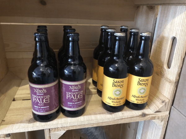 NEW Mixed Pack of 500ml and 330ml Bottles - choose from Saxon Bronze, Dom Boc and Winchester Pale Ale
