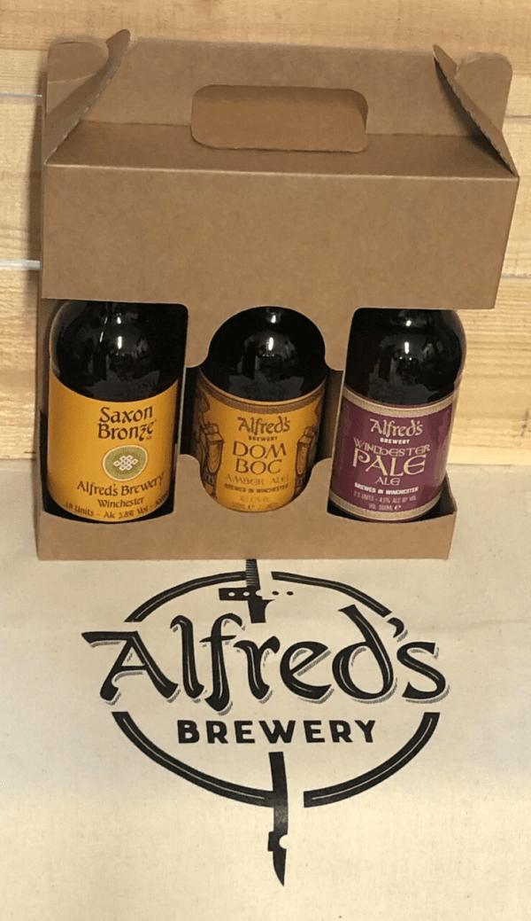 Gift box and 3 x 500ml bottles